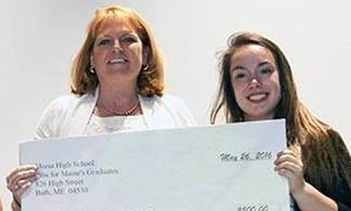THANK YOU students from Jobs for Maines Graduates