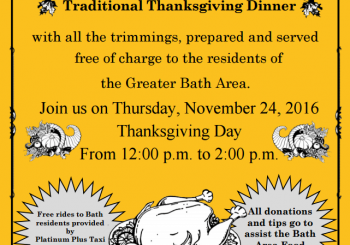 FREE Thanksgiving dinner on Thanksgiving!