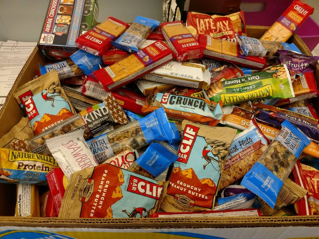 Snacks for Hungry Students