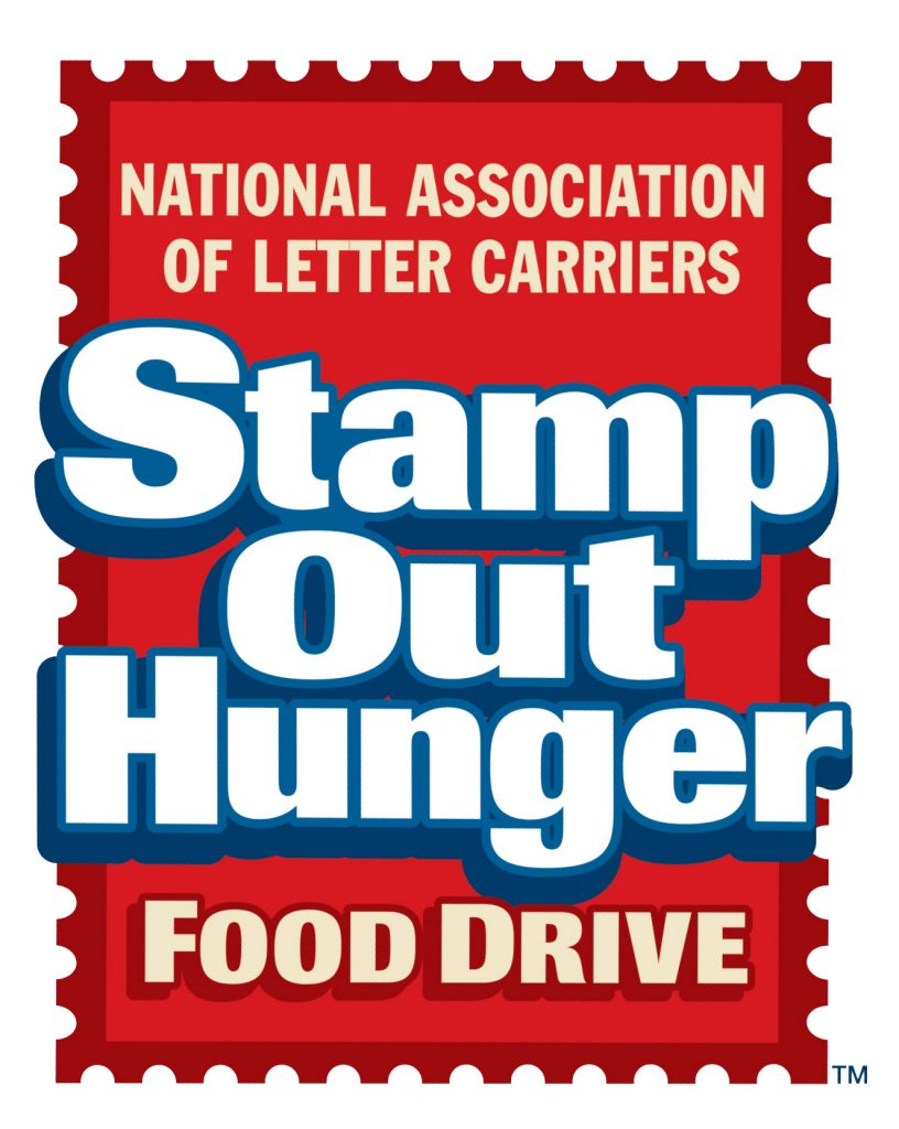 2019 Postal carrier food drive!!
