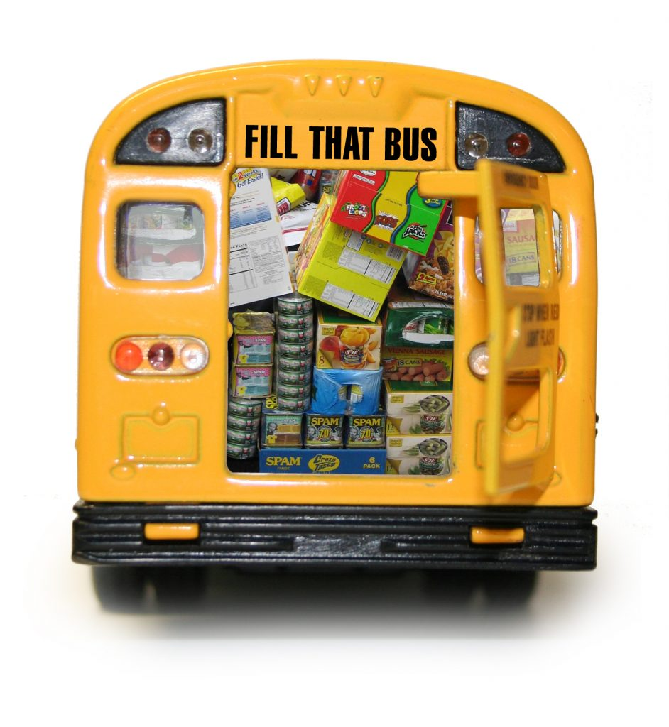 FILL A BUS Annual Food Drive!